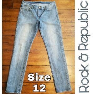 Rock & Republic skinny jeans size 8